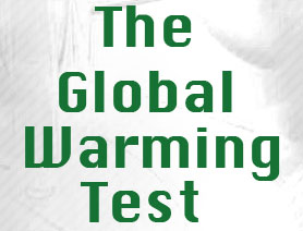 Test yourself - Take the Global Warming Test!