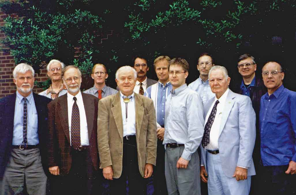 Participating scientists at the Global Change Hearing in the US Congress May 30, 2000.