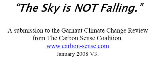 Download the report by the Carbon Sense Coalition (PDF; ~161 kbytes)
